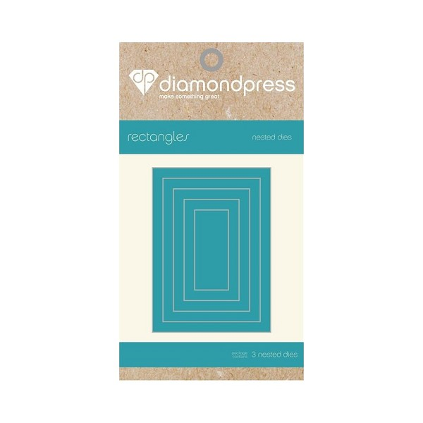 Diamond Press - Die - Nested Rectangle