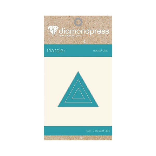 Diamond Press - Die - Nested Triangle