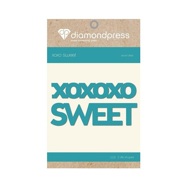 Diamond Press - Die - Sweet XOXO