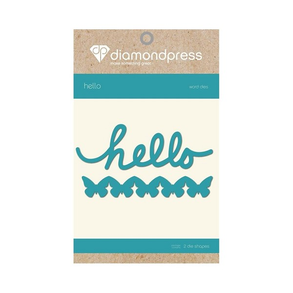 Diamond Press - Die - Hello - DP1189