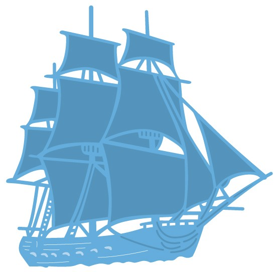 Marianne Design - Die - CreaTables - Tiny`s tall ship