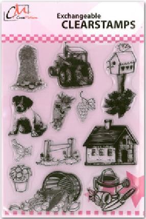 CreaMotion - Clearstamp - Farm1 - BS437799