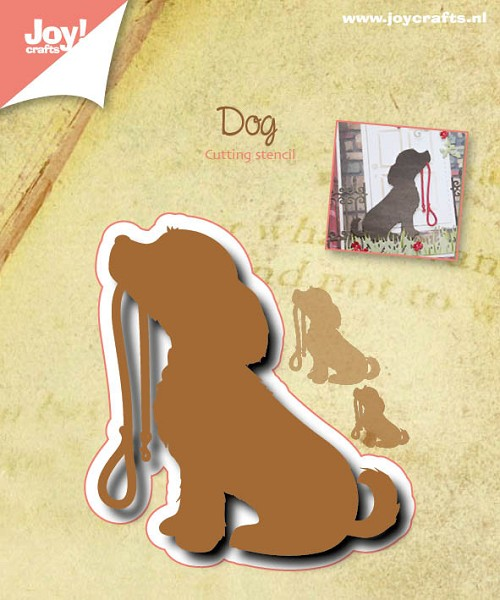 Joy! crafts - Die - Silhouette - Dog