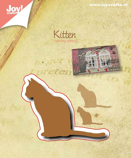Joy! crafts - Die - Silhouette - Kitten