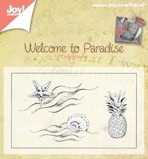 Joy! crafts - Clearstamp - Welcome to paradise - 6410/0397