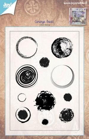 Joy! crafts - Clearstamp - Grunge Basic - 6410/0402