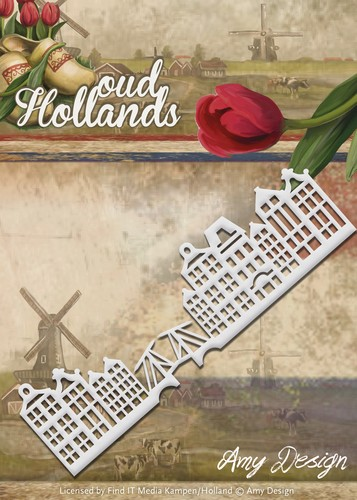 Card Deco - Amy Design - Die - Oud-Hollands - Gevelrand