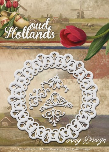 Amy Design - Die - Oud-Hollands - Tulp Frame - ADD10047