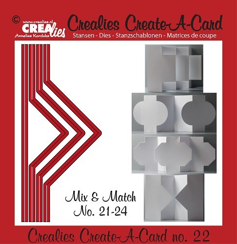 Crealies - Die - Create-A-Card - CCAC22