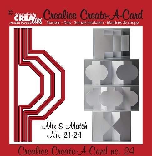 Crealies - Die - Create-A-Card - CCAC24
