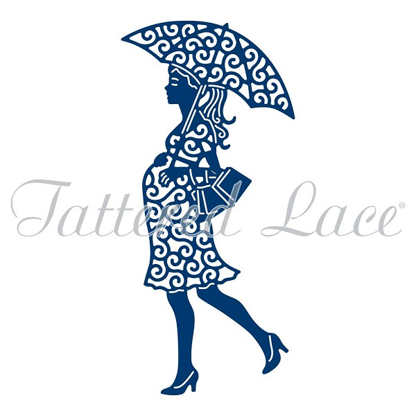Tattered Lace - Die - Baby Shower