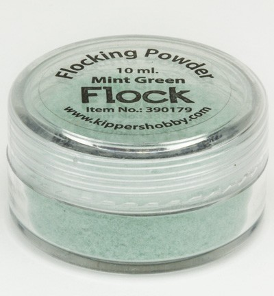 Kippers Hobby - Flocking Powder: Mint Green - 390179