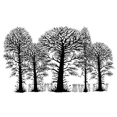 Lavinia Stamps - Clearstamp - Trees - LAV052