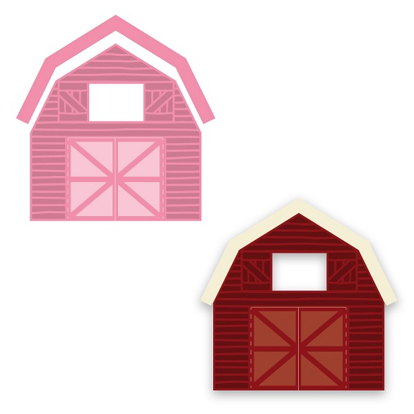 Marianne Design - Die - Collectables - Barn - COL1406