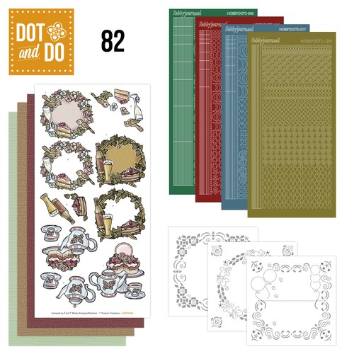 Card Deco - Kaartenpakketten - Dot & Do - No. 82 - Jubileum - DODO082