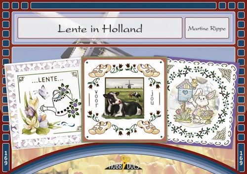 Card Deco - Hobbydols - No. 169 - Lente in Holland