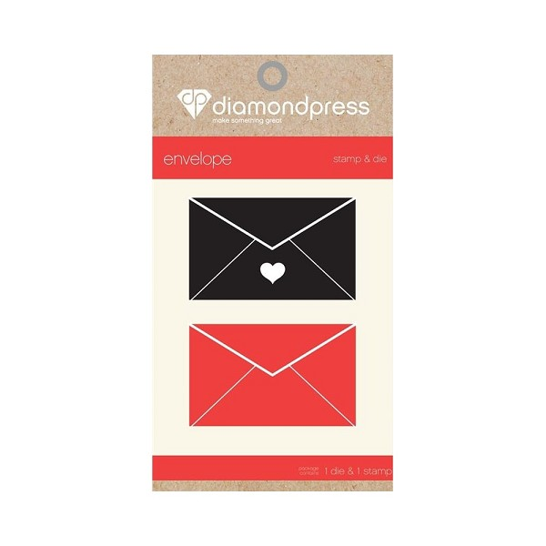 Diamond Press - Stamp and Die set - Envelope