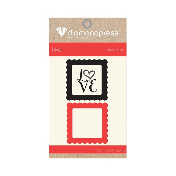 Diamond Press - Stamp and Die set - Love