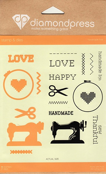 Diamond Press - Stamp and Die set - Handmade Love