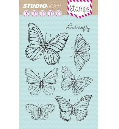 Studio Light - Clearstamp - Basic - Butterfly - STAMPSL135