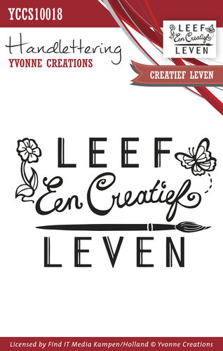 Yvonne Creations - Clearstamp - Handlettering - Creatief leven - YCCS10018