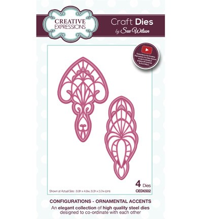 Creative Expressions - Die - The Configurations Collection - Ornamental Accents