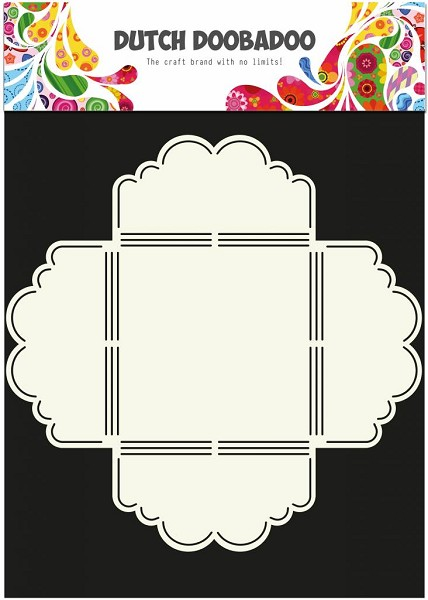 Dutch Doobadoo - Envelop Art - Scallop 3 - 470.713.020