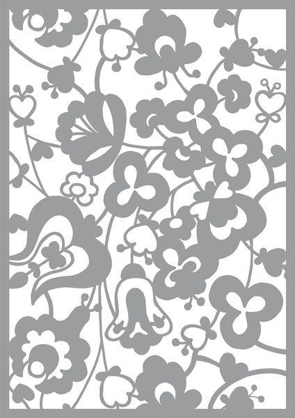Pronty - Maskingstencil - Flowers - 470.802.038