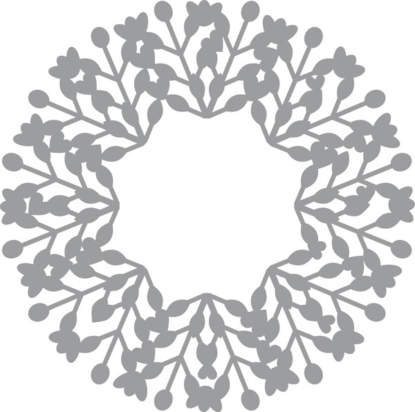 Pronty - Maskingstencil - Wreath - 470.801.015