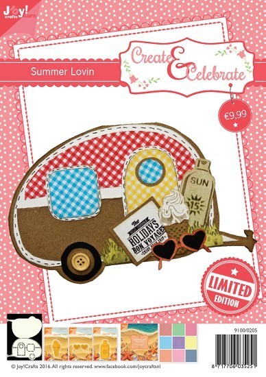 Joy! crafts - Kaartenpakket - Create & Celebrate - Summer Lovin - 9100/0205