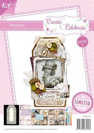 Joy! crafts - Kaartenpakket - Create & Celebrate - Romance - 9100/0203