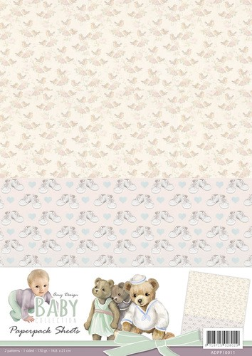 Card Deco - Amy Design - Achtergrondpapier - Baby Collection - ADPP10011