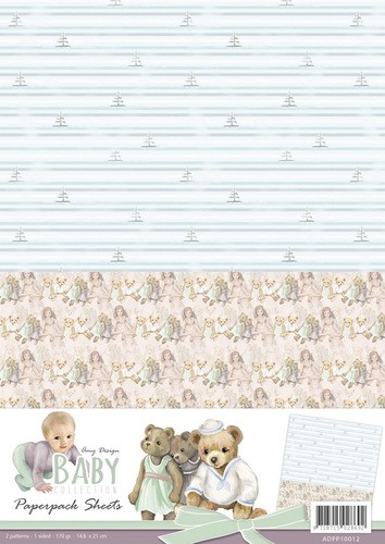Card Deco - Amy Design - Achtergrondpapier - Baby Collection - ADPP10012