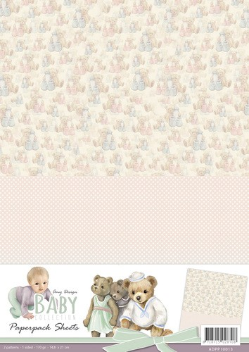 Card Deco - Amy Design - Achtergrondpapier - Baby Collection - ADPP10013