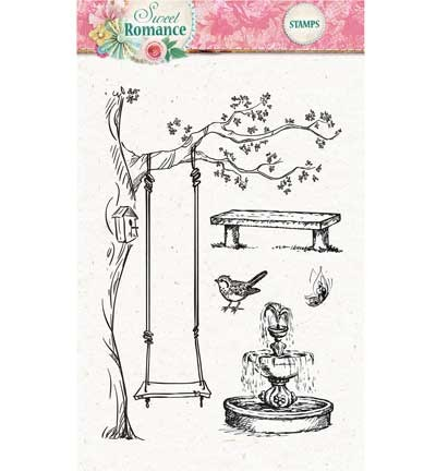 Studio Light - Clearstamp - Sweet Romance - STAMPSR129