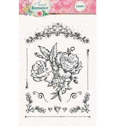 Studio Light - Clearstamp - Sweet Romance - STAMPSR128