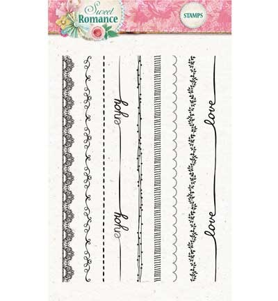 Studio Light - Clearstamp - Sweet Romance - STAMPSR130