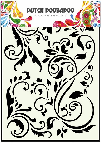 Dutch Doobadoo - Maskingstencil - Swirls - 470.715.047