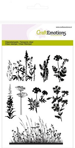 CraftEmotions - Clearstamp - Herbs branches - 130501/1237