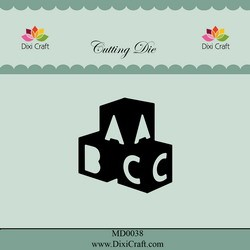 Dixi Craft - Die - ABC Bricks - MD0038