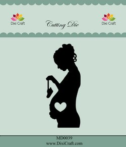 Dixi Craft - Die - Pregnant Woman - MD0039