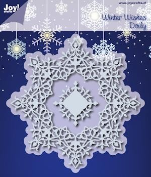 Joy! crafts - Noor! Design - Die - Winter Wishes Doily