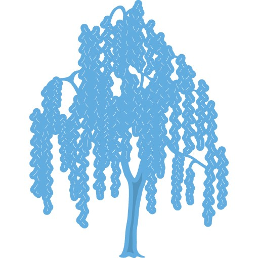 Marianne Design - Die - CreaTables - Weeping Willow - LR0429