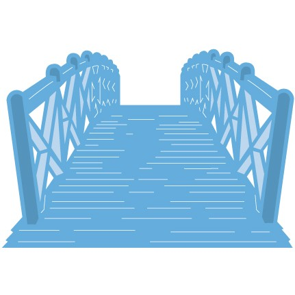 Marianne Design - Die - CreaTables - Tiny`s Bridge - LR0426
