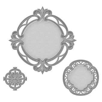 Spellbinders - Die - Nestabilities - Savoy Decorative Accent