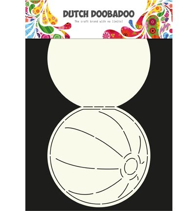 Dutch Doobadoo - Card Art - Beach Ball - 470.713.600