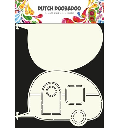 Dutch Doobadoo - Card Art - Caravan - 470.713.601