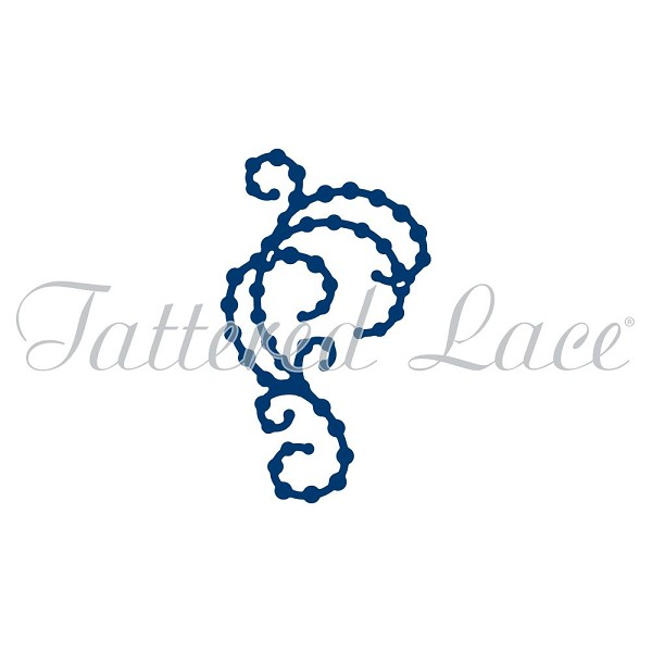 Tattered Lace - Die - Mini Pearl Flourish 5