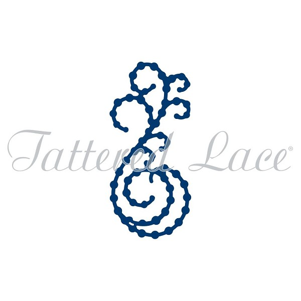 Tattered Lace - Die - Mini Pearl Flourish 7