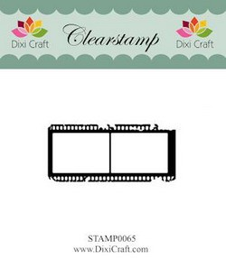 Dixi Craft - Clearstamp - Filmstrip - STAMP0065